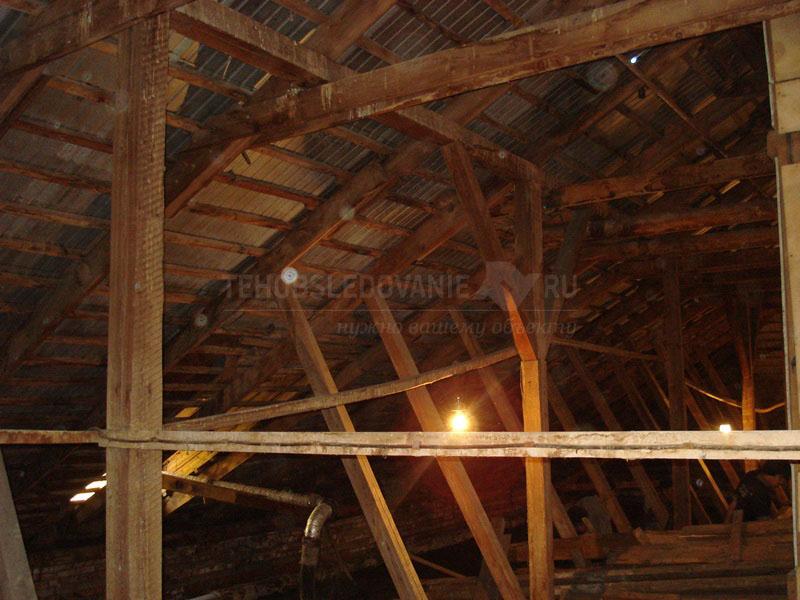 Несущие деревянные конструкции крыши